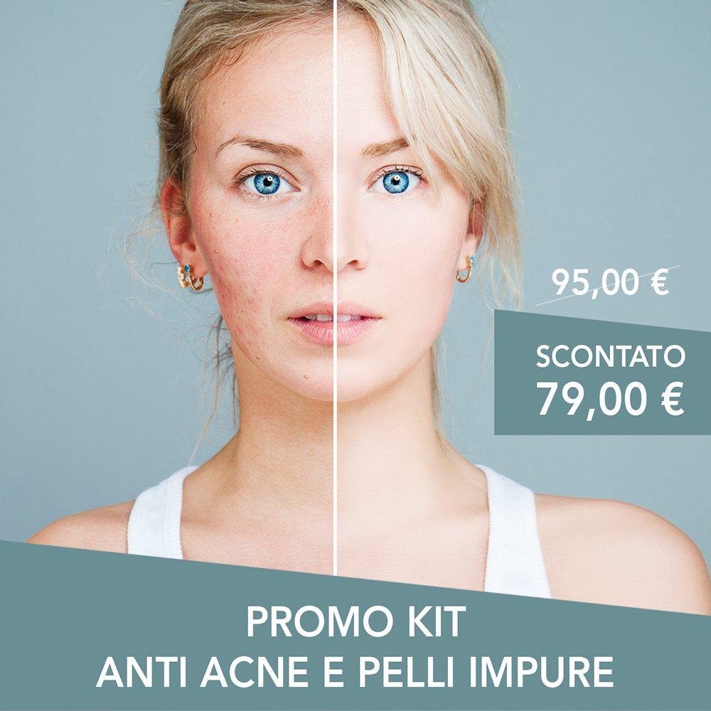Promo kit anti acne e pelli impure