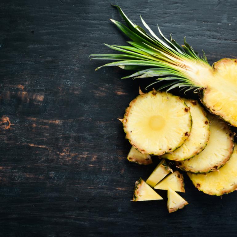 Ananas, le proprietà meno conosciute